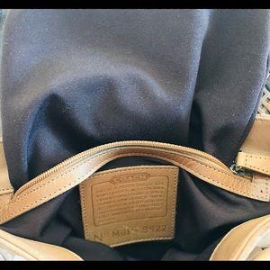 Coach Bags - Vintage Coach tote handbag; small shoulder purse